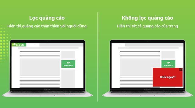 Lọc quảng cáo giúp bạn có trải nghiệm lướt web tốt hơn