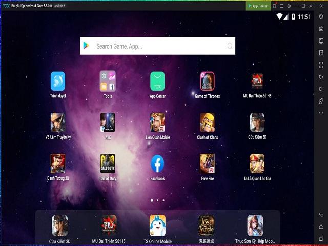 Giả lập Android giúp bạn trải nghiệm các tựa game trên chính máy tính của mình
