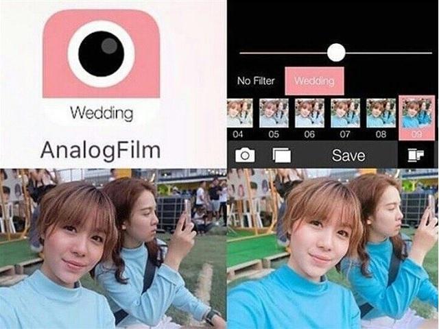 Ứng dụng Analog Film trên iPhone