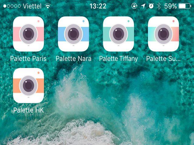 Bộ ứng dụng Palette