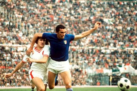 Top 10 cầu thủ ghi nhiều bàn thắng nhất cho đội tuyển Ý