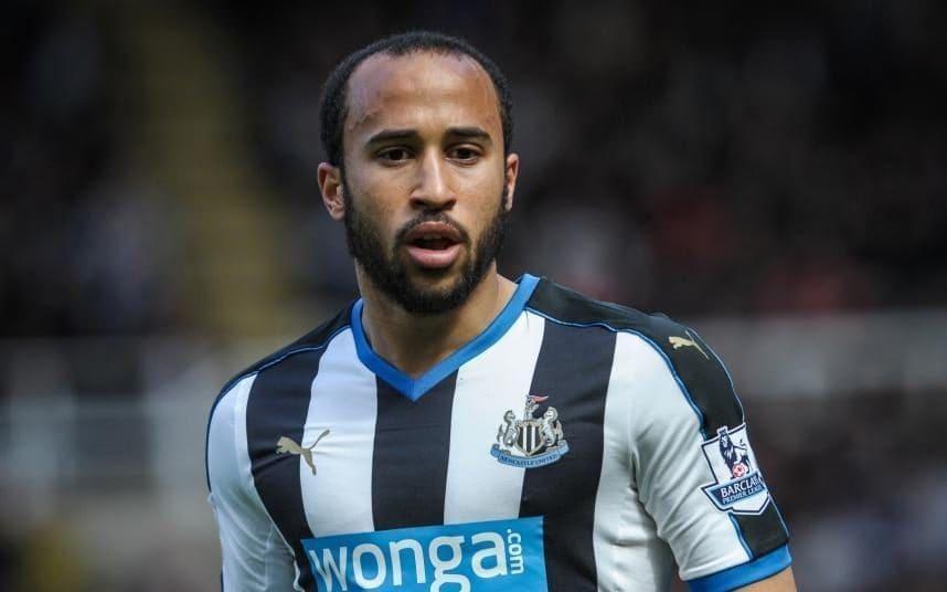 Townsend từng có quãng thời gian thi đấu rất thành công trong màu áo Newcastle